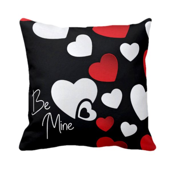 Be Mine Heart Love Cushion Cover