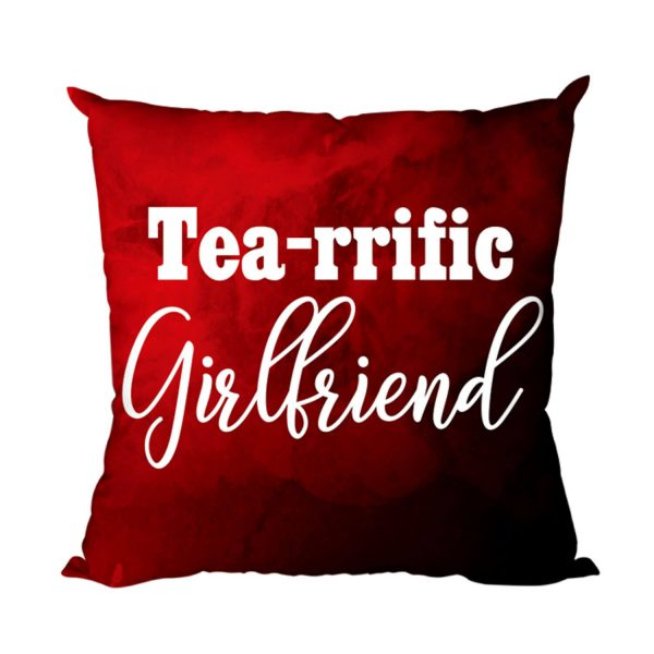 Tearrific Girlfriend Cushion Cover