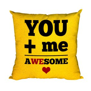 You Me Awesome Cushion Cover