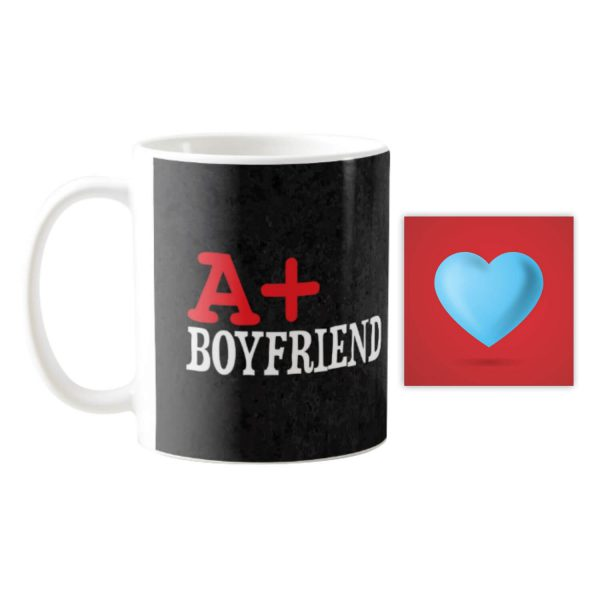 A+ Boyfriend Coffee Mug