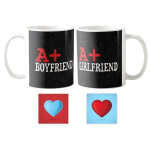 A+ Boyfriend Girlfriend Couple Coffee Mug