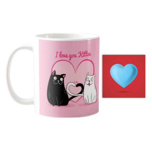 I Love You Kitten Coffee Mug