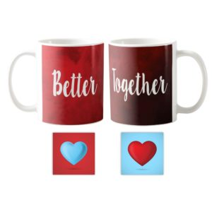 KH9024_ Better Together Couple Mugs Coaster