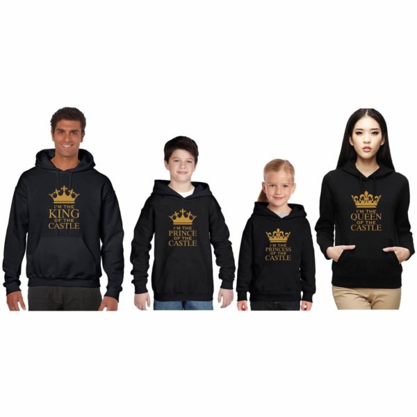 King of The Castle Family Sweatshirt