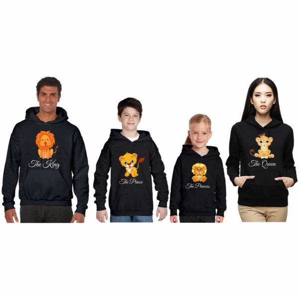 Lion King Queen Family Sweatshirt