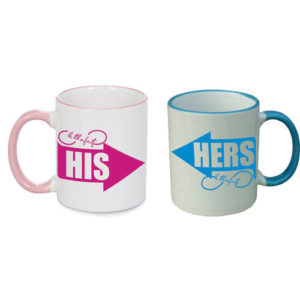 Love You Till End Couple Mugs
