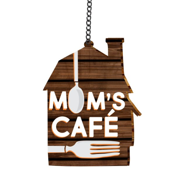 Moms Cafe Kitchen Wall Hanging
