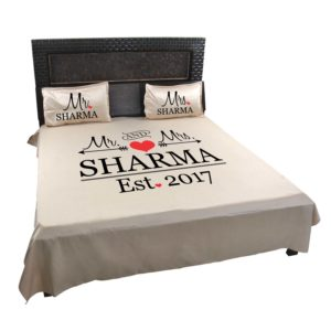 Mr And Mrs Bedsheet