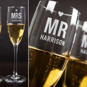 Wedding Gifts Champagne flutes