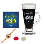 No 1 Brother Engraved Tea Cups