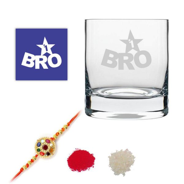 No. 1 Brother Whiskey Glass-1