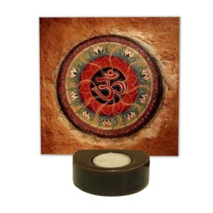 Religious Lord Om Tea light Holder