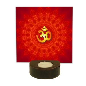 Divine Lord Om Tea light Holder