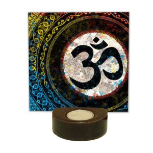Devotional Lord Om Tea light Holder