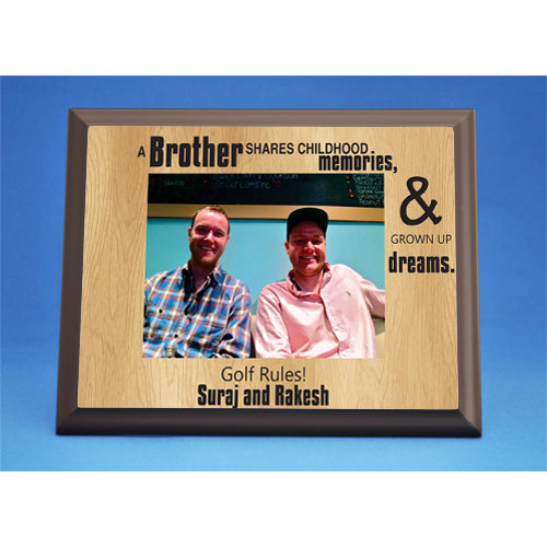 PLAQUES FOR BROTHER