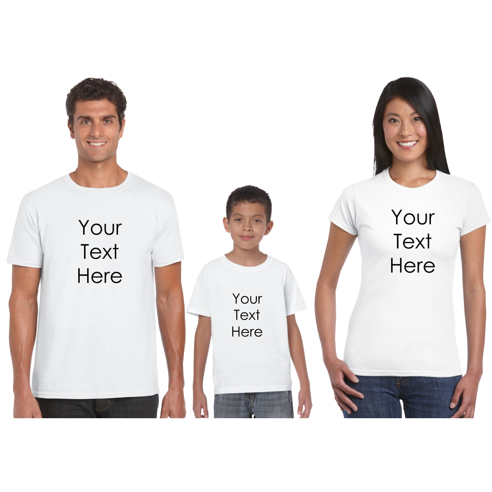 Matching Family Outfits Family Matching Outfits Customized Your Own Design Father Mother And Son Daughter Summer T-shirt For Adult And Baby Bodysuit