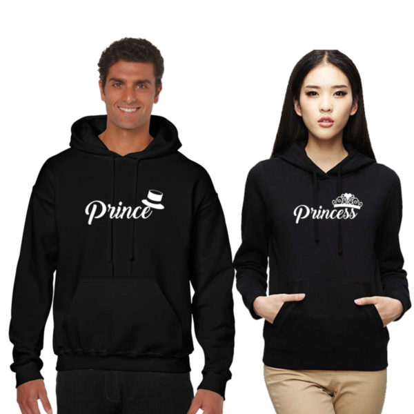 Prince Princess Couple Sweatshirt