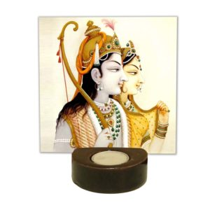 Alluring Ram Sita Tea light Holder