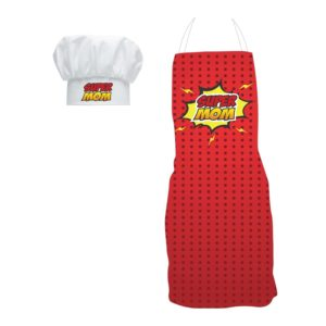 Gifts for Mom, Super Mom Apron