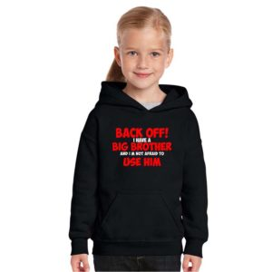 SKU_Back Off I Have a Big Brother Kids Sweatshirt (Black) TS12223