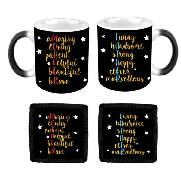 Starry Beautiful Mother Father Definition Couple Coffee Mug