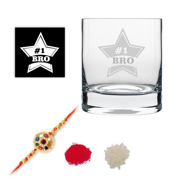 Starry No.1 Brother Whiskey Glass-1