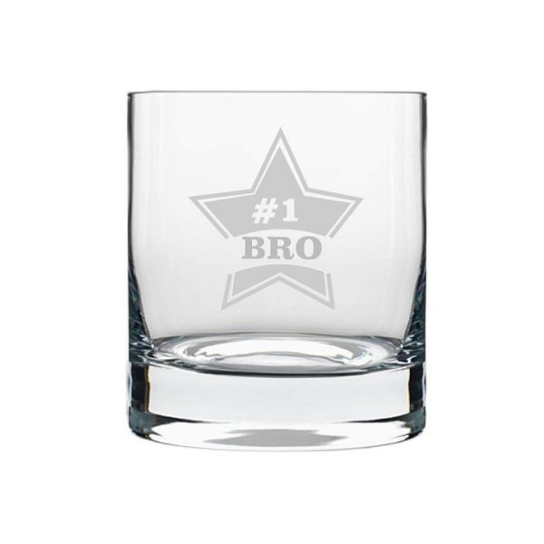 Starry No.1 Brother Whiskey Glass-2