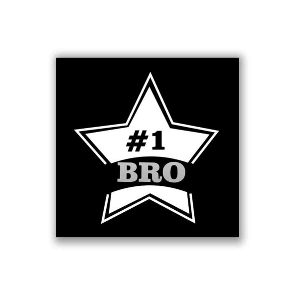 Starry No.1 Brother Whiskey Glass-3a