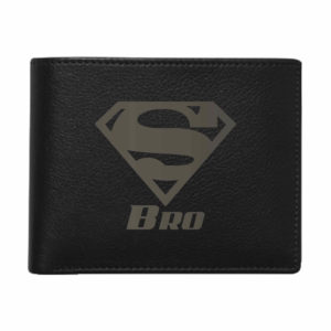 Super Bro Men's Leather Wallet for Brother