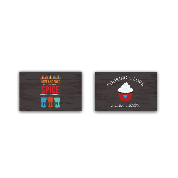 Cooking is Love Table Placemats
