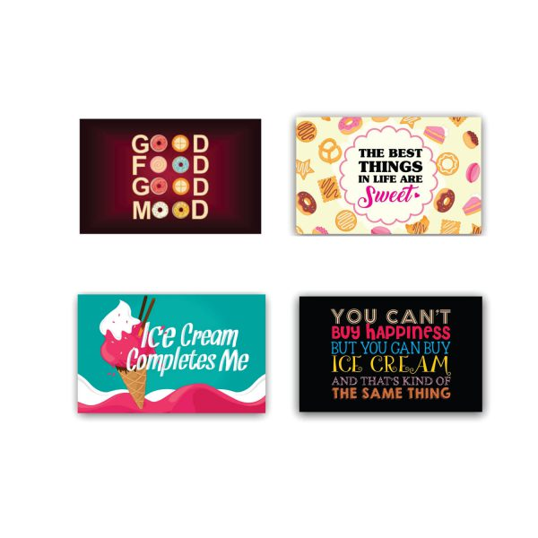Best Things in are Life Sweet Table Placemats Set of 4