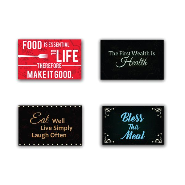 Bless this Meal Table Placemats Set of 4