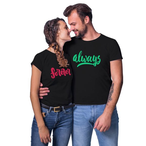 Always Forever Couple T-shirt