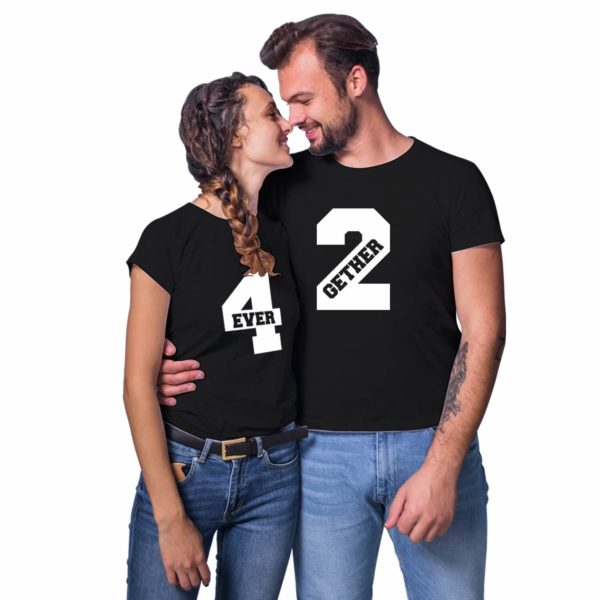 Together Forever Couple T-shirt