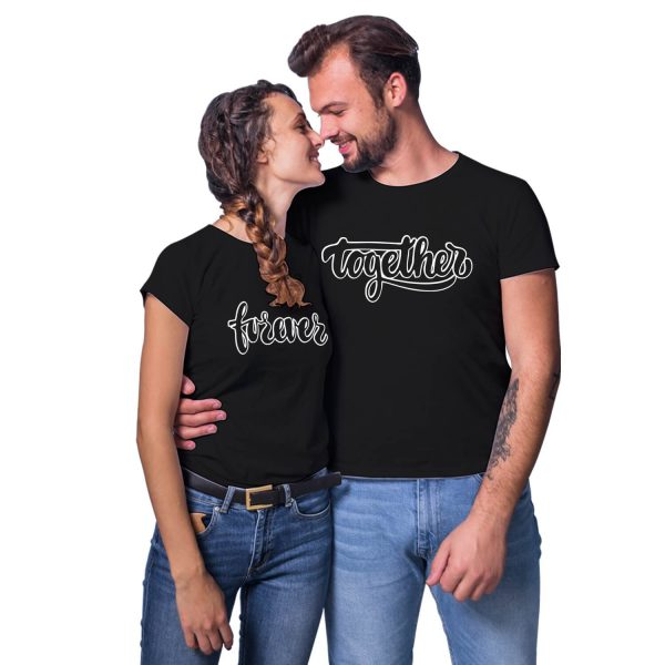 Forever Together Couple T-shirt