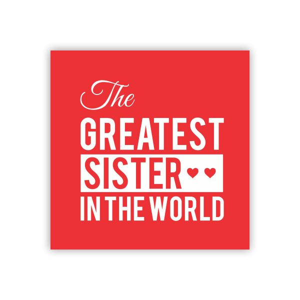 The Greatest Brother In Law And Sister Mug Coaster