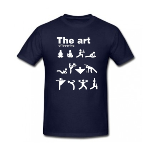 Quirky The Art of Beering T-shirt
