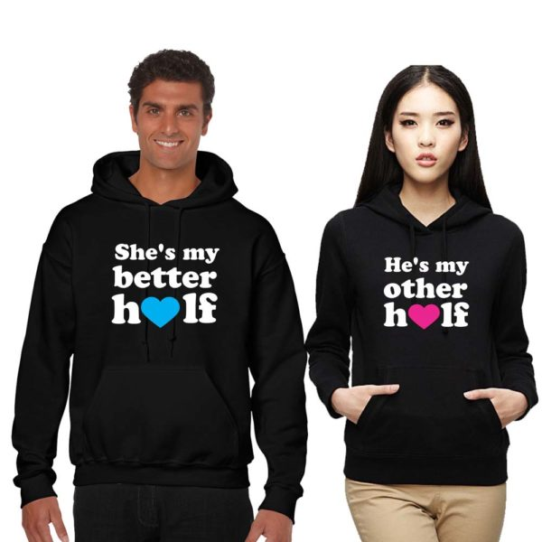 Couple Sweatshirts for the best halves