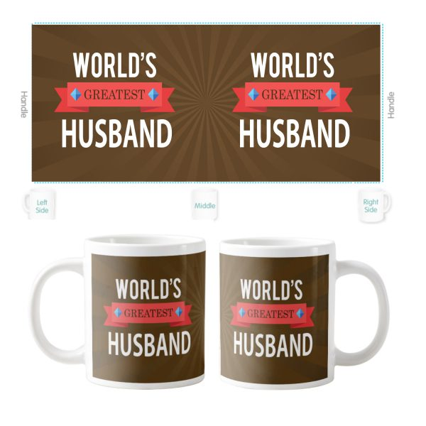 World Greatest Husband Coffee Mug