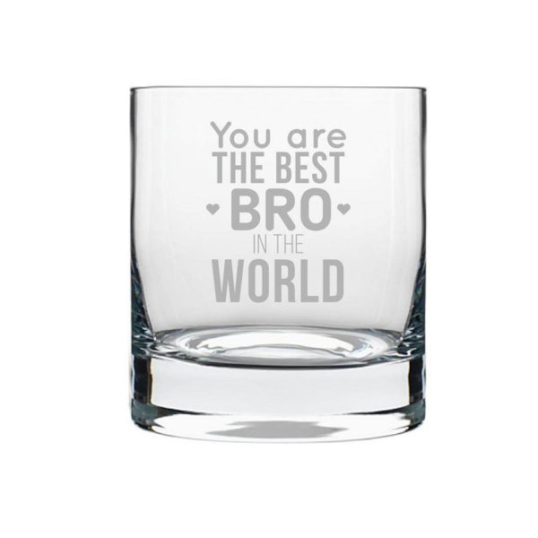 Worlds Best Brother Whiskey Glass-2