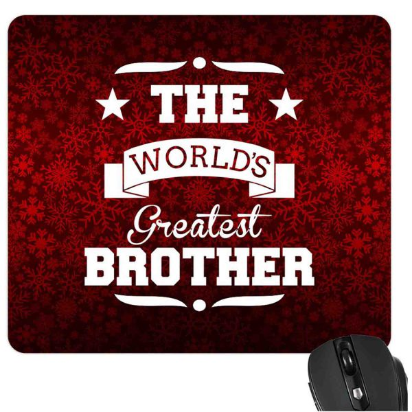 Worlds Greatest Brother Mousepad-2