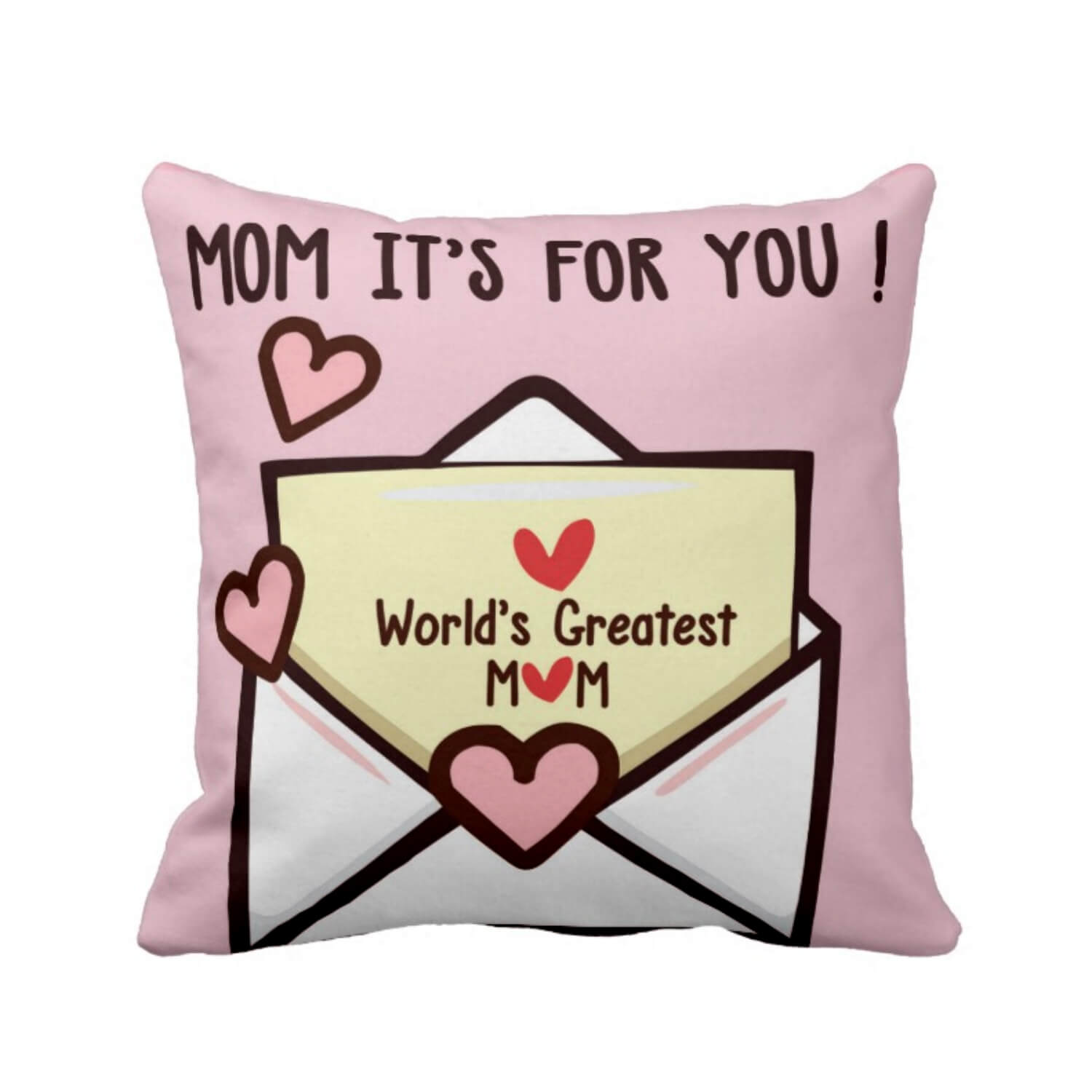 Worlds Greatest Mom Cushion Cover
