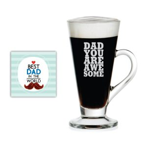 You are Awesome Dad Engraved Tea Mug