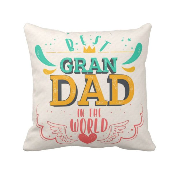 Best Grandad in the World Cushion Cover
