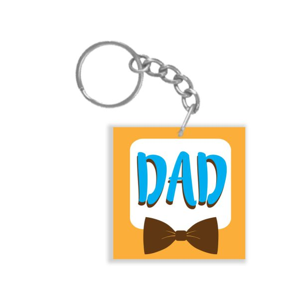 Awesome Dad Keychain Keyring