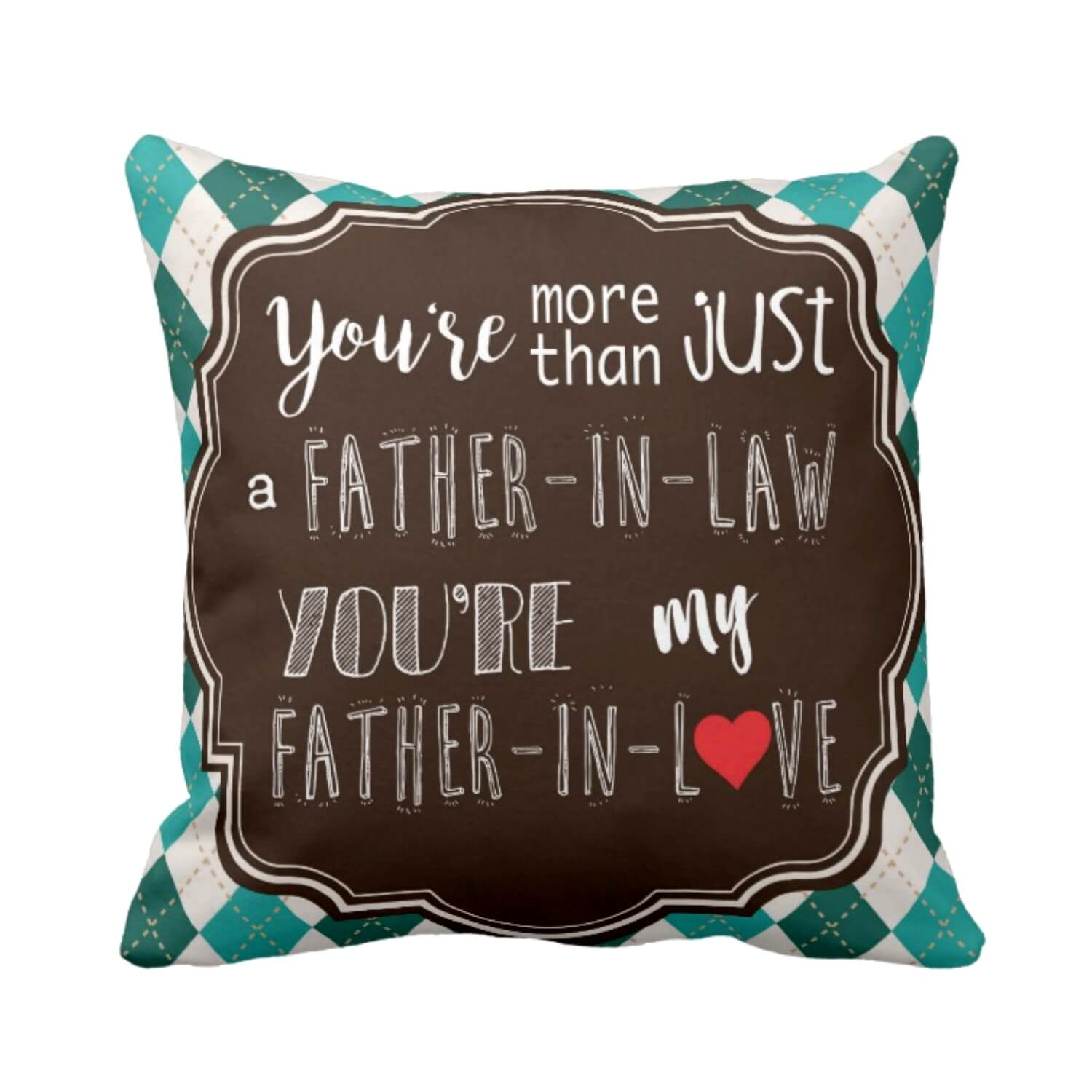 father in love Cushion Cover for father in Law