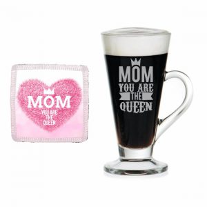 Mom You are the Queen Engraved Tea Mug