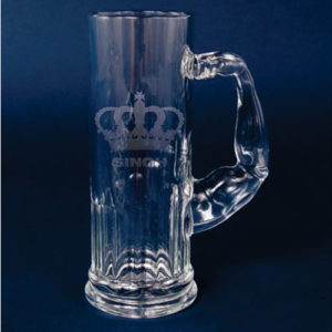 Singh is King Muscolo Beer Mug