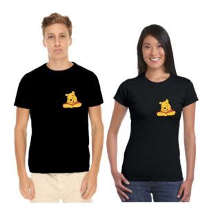 pooh couple tshirt