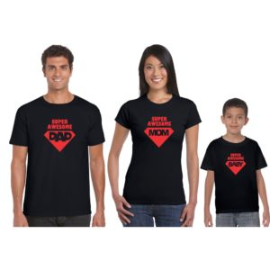 Super Awesome Family T-shirt